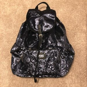 Victoria's Secret • sequin backpack